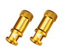 Granite JUICY NIPPLE Valve Cap & Removal Tool (Gold)