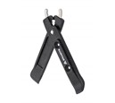 Granite TALON Tyre Lever w/ S/S Chain Removing Tips (Black)